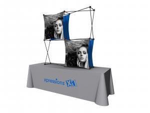 X1 5ft - 2x2 H Fabric Table Top Pop-Up Display