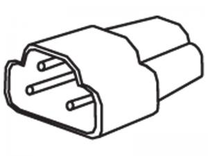 Modular Connector for Fluorescent Slim Line