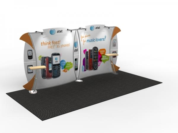 VK-2909 Trade Show Display -- 10 x 20