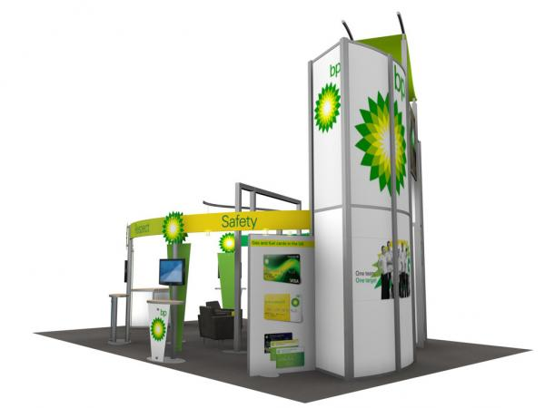 RE-9029 / BP Trade Show Rental Display -- Image 2