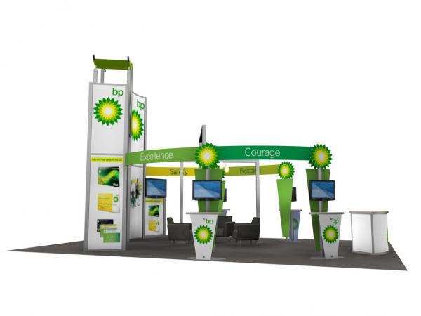 RE-9029 / BP Trade Show Rental Display -- Image 6