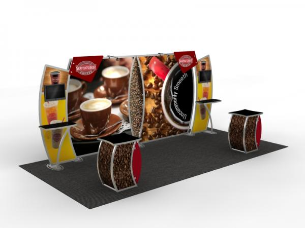 VK-2906 Trade Show Display -- 10 x 20