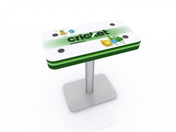 MOD-1467 Trade Show and Event Wireless Charging Table -- Image 1