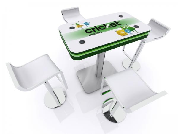 MOD-1467 Trade Show and Event Wireless Charging Table -- Image 3