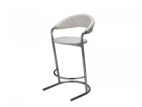 CEBS-002 Bar Stool White