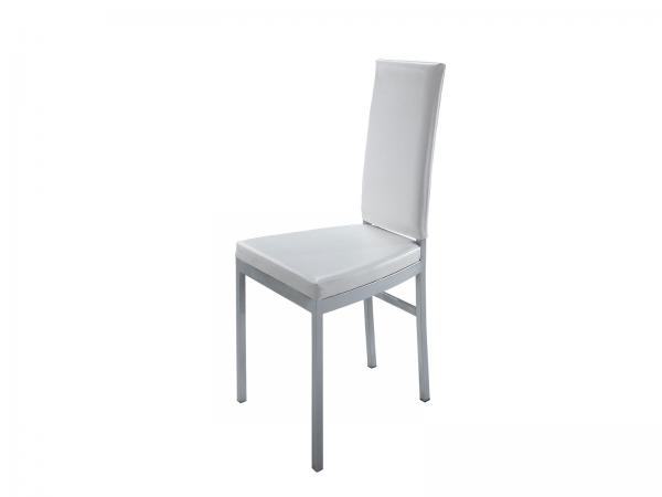CEGS-013 White | High Back Dining Chair -- Trade Show Rental