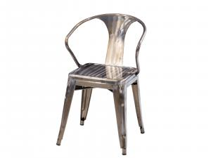 Rustique Chair with Arms -- Trade Show Furniture Rental