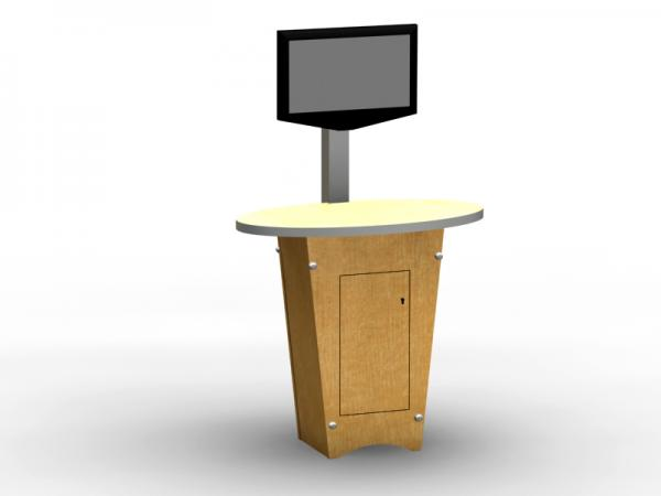 LTK-1139 Trade Show Workstation or Kiosk