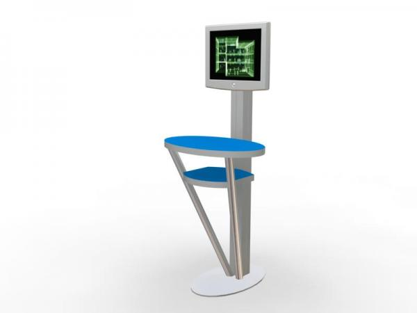 MOD-1138 Trade Show Workstation or Kiosk
