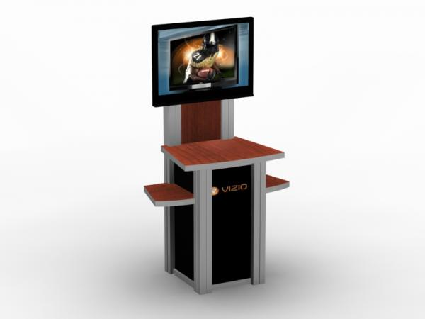 MOD-1229 Trade Show Workstation \ Kiosk -- Image 3