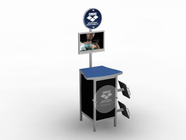 MOD-1232 Trade Show Workstation / Kiosk -- Image 3