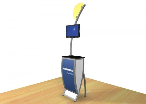 VK-1604 Trade Show Workstation or Kiosk -- Image 5