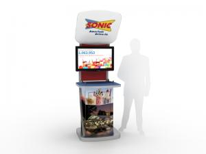 MOD-1523 Trade Show Workstation or Kiosk