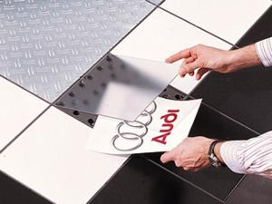 PromoDek Modular Flooring Display System
