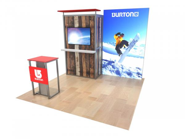 ECO-1074 Sustainable Trade Show Exhibit - Image 1