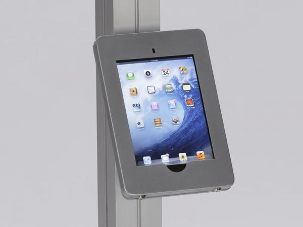 See the MOD-1317 for the Portable iPad Kiosk Version