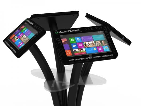 MOD-1338M Portable Surface 2 Kiosk with Graphics