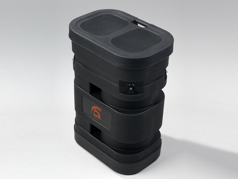 "Portable Roto-molded Cases with Wheels (28"" W x 19"" D x 38"" H)"