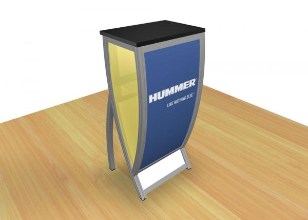 RE-1214 Tradeshow Counter or Pedestal -- Image 3