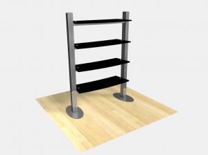 RE-1253 / Freestanding Shelf Display