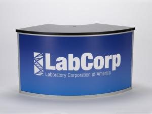 RE-1205   /   Large Curved Counter