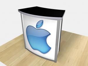 RE-1228  /  Small Curved Counter