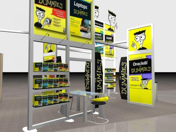 RE-9036 Rental Exhibit / 20� x 40� Island Trade Show Display � Image 2