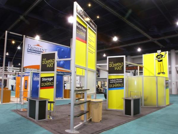 RE-9036 Rental Exhibit / 20� x 40� Island Trade Show Display � Image 6