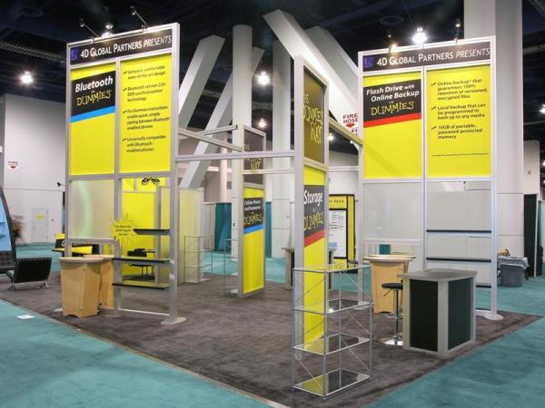 RE-9036 Rental Exhibit / 20� x 40� Island Trade Show Display � Image 8