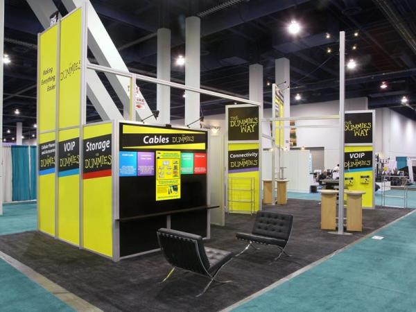 RE-9036 Rental Exhibit / 20� x 40� Island Trade Show Display � Image 5