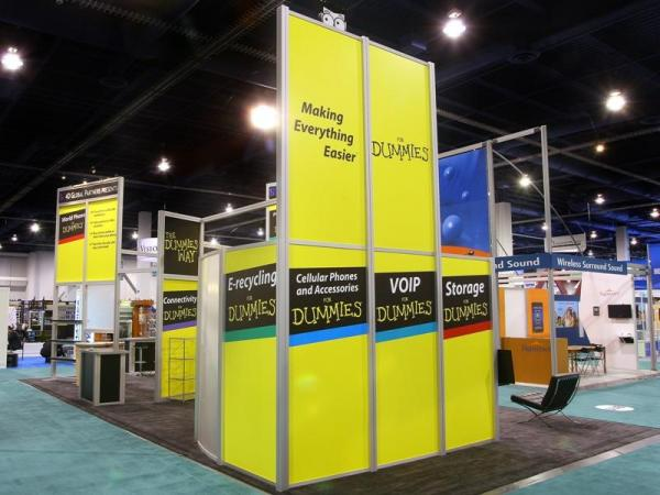 RE-9036 Rental Exhibit / 20� x 40� Island Trade Show Display � Image 9