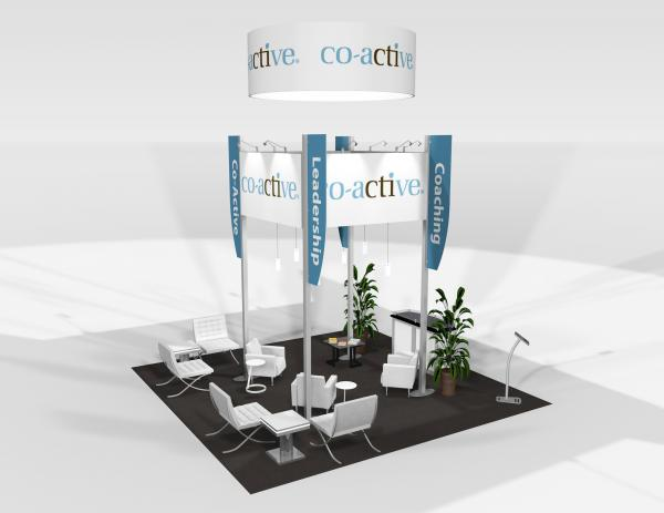 RE-9081 Co-active Trade Show Rental Exhibit -- Image 4