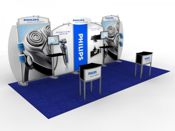 VK-2117 Portable Hybrid Trade Show Exhibit -- Image 1