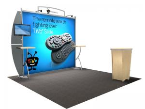 VK-1208 Portable Hybrid Trade Show Exhibit-- Image 1
