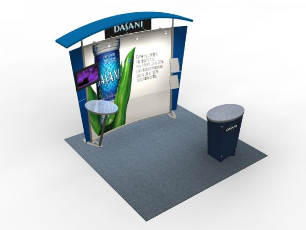 VK-1303 Trade Show Exhibit with Silicone Edge Graphics (SEG) -- Image 4