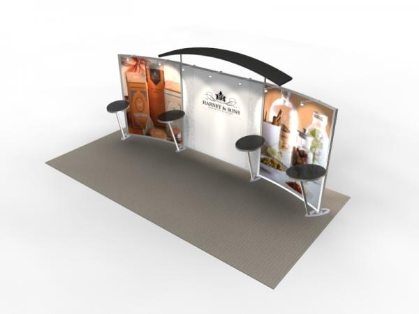 VK-2301 Trade Show Exhibit with Silicone Edge Graphics (SEG) -- Image 2