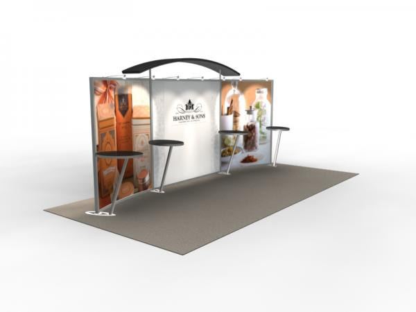 VK-2301 Trade Show Exhibit with Silicone Edge Graphics (SEG) -- Image 4