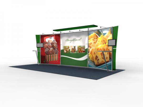 VK-2304 Trade Show Exhibit with Silicon Edge Graphics (SEG) -- Image 4