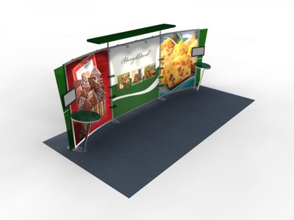 VK-2304 Trade Show Exhibit with Silicon Edge Graphics (SEG) -- Image 2