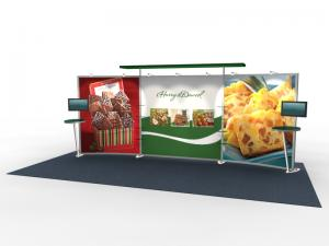 VK-2304 Trade Show Exhibit with Silicon Edge Graphics (SEG) -- Image 1